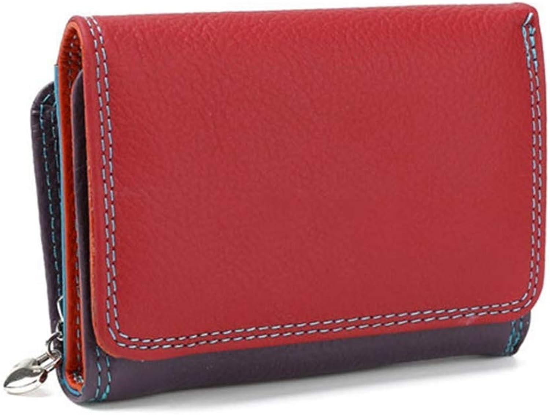 Girls Purse Women's Wallet Women's PU Leather Mini Zipper Buckle Wallet Wallet color Wallets