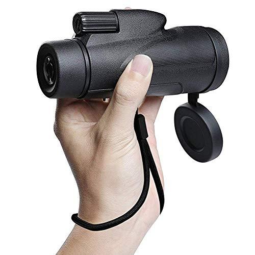 J-Love Binoculares para Adultos, telescopio práctico 8X32 Binoculares Profesionales Glimmer Impermeable Telescopio práctico para Tiendas campaña/Caza/Viajes Telescopio práctico para Exteriores