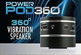 Power Pod 360 Vibration Speaker - Black