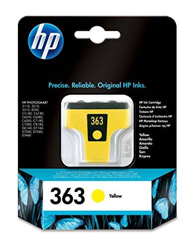 HP 363 gelb Original Druckerpatrone für HP Photosmart