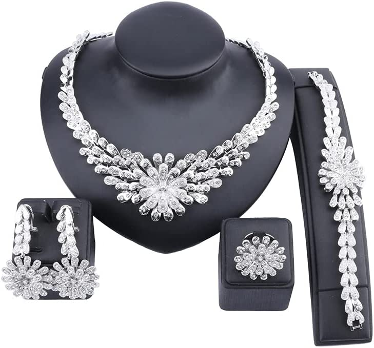 XiaoG Max 82% OFF Dubai African Max 52% OFF Gold Color Mysterious Necklace Romantic Wedd
