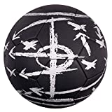 Best Sporting - Balón de fútbol táctico, tamaño 5, Color Negro