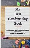 My First Handwriting Book (English Edition)