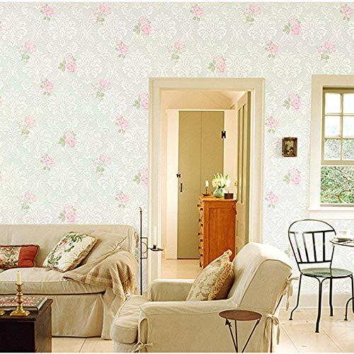 Papel pintado no tejido jardín flor