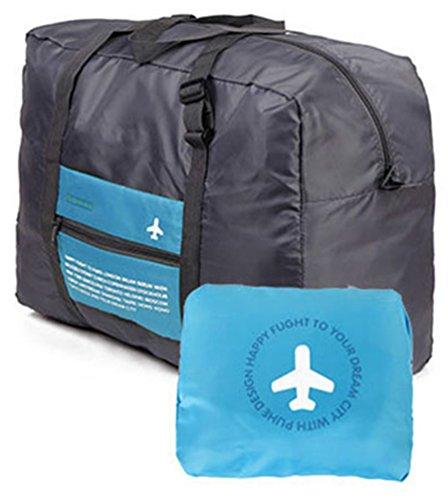 versione coreana del sacchetto pacchetto di ammissione pieghevole di viaggio di grande capacità portatile impermeabile in nylon valigia multifunzione (colore rosa)