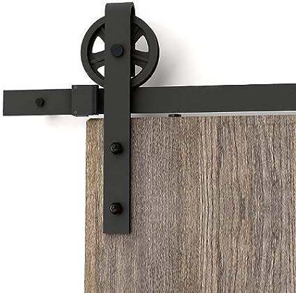 Aihom 1220/mm Mini coulissante Cabinet double Grange de porte de mat/ériel pour 2/portes