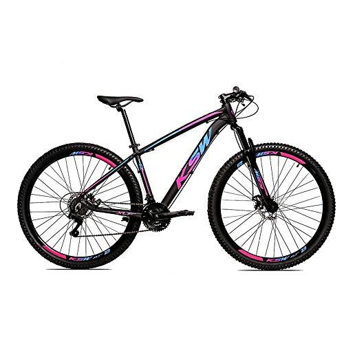 Bicicleta Alumínio Aro 29 Ksw 24 Velocidades Freio a Disco KRW16