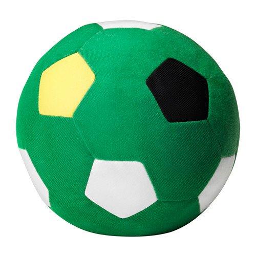 Sparka Ikea - Balón de fútbol de peluche, color verde