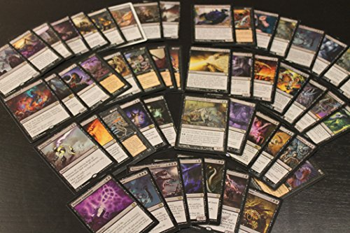 50 Schwarze Rare Karten Magic The Gathering MTG Sammlung Lot