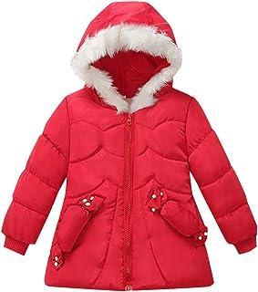 Kids Puffer Plus Velvet Parka Jacket Boys Outwear Hooded Overcoat Plush Clothes