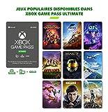 Un abonnement unique regroupant : le Xbox Game Pass pour console (Xbox One), le Xbox Game Pass pour PC, et le Xbox Live Gold pour jouer en en ligne sur console (Xbox One) Plus de 200 jeux consoles à jouer en illimité, avec de nouveaux jeux chaque moi...