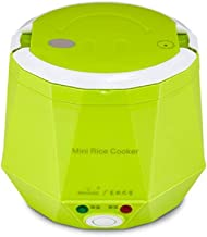Mini Multi-function Rice Cooker 12V 1.3L Car Rice Cooker For Rice, Soup, Noodles, Vegetable, car use (1.3L, Green)