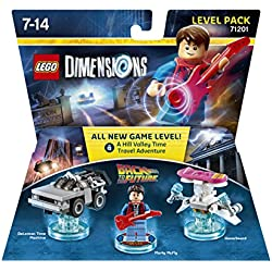 LEGO - Starter Pack Dimensions (PS4) + Level pack: Back To The ...
