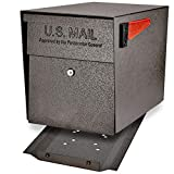 Mail Boss 7108 Security, Bronze Curbside Locking Mailbox,Medium