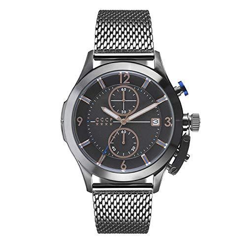 CCCP CP-7033-33 SHCHUKA Reloj de cuarzo de 43.5mm para hombre