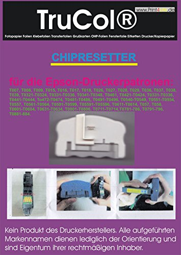 Chip-Resetter für ältere EPSON-Druckerpatronen für 7- und 9-Polige Kontakte