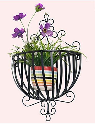 Blumenständer Plante Théâtre European Style Iron Demi-Cercle Flower Racks pour Balcon et intérieur Mural muraux Fleur Racks Idée Cadeau Jardiniers 1