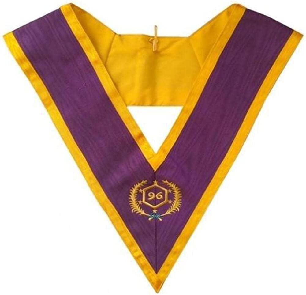 Masonic Memphis Misraim Collar - 96 Degree