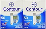 Bayer Contour Blood Glucose, 100 Test Strips Exp Year or Longer