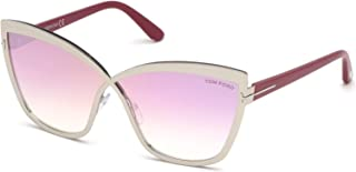 Tom Ford SANDRINE-02 FT 0715 SILVER/PINK SHADED 68/5/140 women Sunglasses