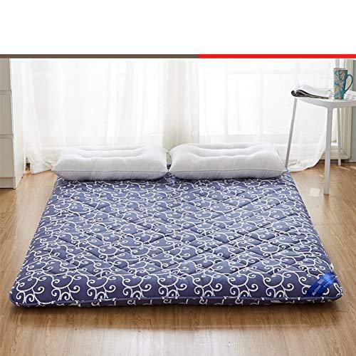 JINDSMART Sleeping Tatami Floor Mat,Japanese Floor Mattress Futon Mattress,Shiki Futon,Foldable Mattress,Meditation Space Zen Room Full Size Mattress