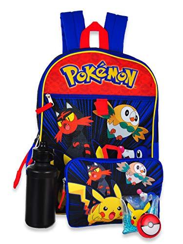 Pokemon Backpack School Supplies Pikachu Accessories