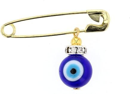 DiamondJewelryNY Double Loop Bangle Bracelet with a St Fiacre Charm.