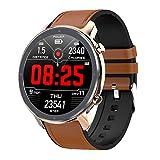 Rzj-njw Smart Watch Fitness Tracker mit Herzfrequenz-Blutdruck, Stoppuhr, Schlaf-Monitor IP68...