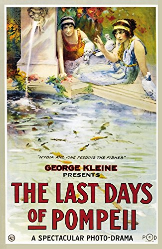 The Last Days of Pompeii Movie Poster Masterprint (60,96 x 91,44 cm)
