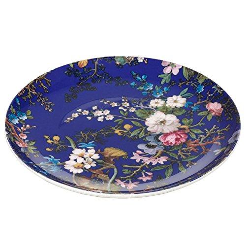Maxwell & Williams wk09520 Kilburn Assiette Floral Muse, 20 cm, boîte Cadeau, Porcelaine, Bleu