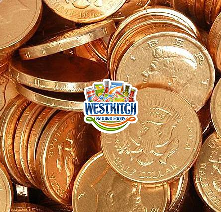 Best gold covered chocolate coins
