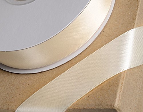25 mm Large-Bleu marine-par mètre Berisfords Festive bord doré ruban satin