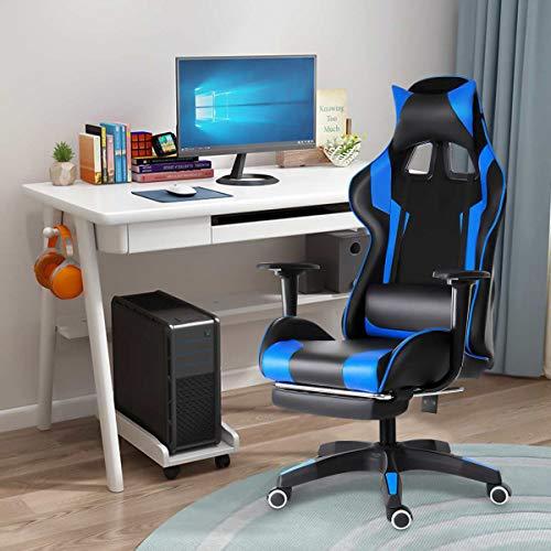 XLLQYY Sillas de juegos para adultosSilla de oficina silla de juego de computadora silla de escritorio de bar de Internet silla de competición silla reclinable muebles de oficina para el hogar