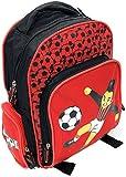 Mochila diseño fútbol para niños Pequeños - 31cm