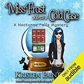 Miss Frost Solves a Cold Case audiobook cover art