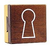 Logica Juegos Art. Cofre Cola de la Golondrina - Rompecabezas de Madera - Caja Secreta - Dificultad 3/6 Difícil - Colección Leonardo da Vinci