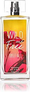 Wild and Free Sunset Haze Hydrating Hair & Body Fragrance by Tru Western, Perfumes for Women - With Notes of Coastal Bergamot, Sun-kissed Quince, and Coconut Crème Heliotrope - 3.4 oz 100 mL