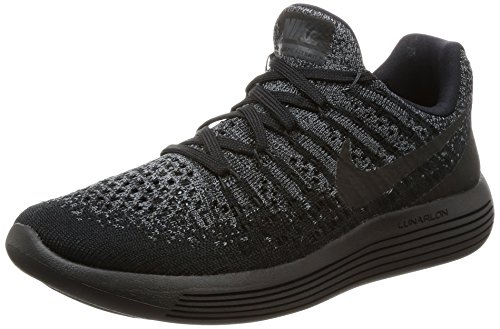 Nike Flyknit Racer Triple Black Midnight Blackout - Black/Black-Anthracite Trainer Size 6 UK/7 US