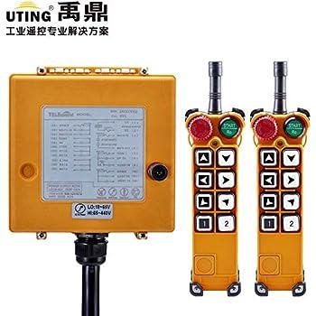 Calvas F24-12S universal industrial radio wireless remote control 1 transmitter controlling 100M distance for crane