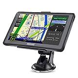 GPS Auto avec Bluetooth Système de Navigation Automatique à écran Tactile de 7 Pouces Cartographie Europe 48 Pays Prise en Charge de Plusieurs Langues 8 Go intégré