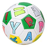Yctze Kinder Fußball, 13 cm Outdoor-Spieltraining Kinderfußball Kinder Sport Match(Brief)