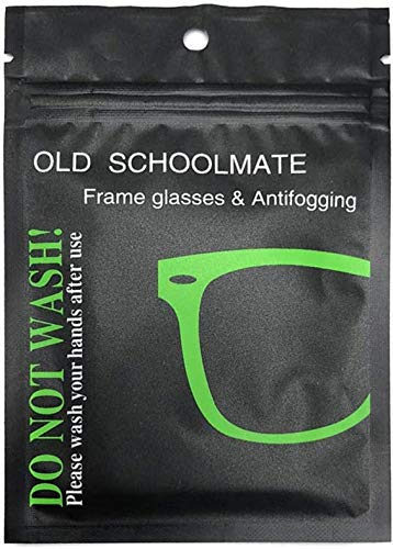 Toallitas Antivaho, Gamuza antivaho para Gafas, Paño Microfibra Limpiador de Cristales y Lentes, Bayeta antivaho, Paño Gafas empañadas, Antivaho para Gafas. 300 usos. (1) (1 toallita)