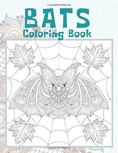 Bats - Coloring Book