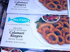 Breaded Calamari Rings Delicious taste Healthy Great for side dish