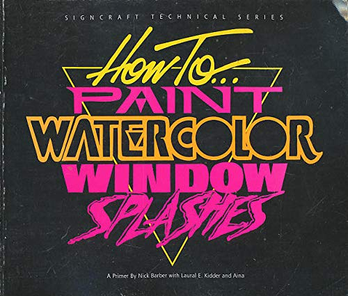 How to Paint Watercolor Window Splashes