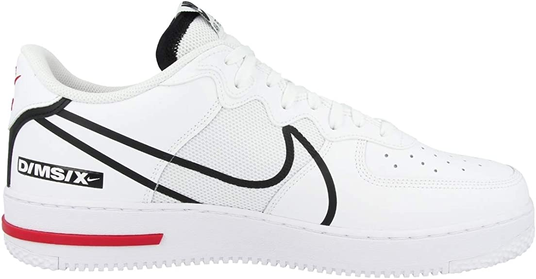 Nike Men's Shoes Air Force 1 React D/MS/X CD4366-100