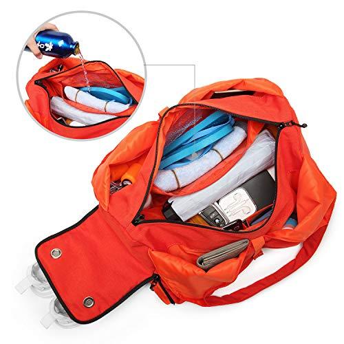 YUMC Compact Travel Gym Bag for Women