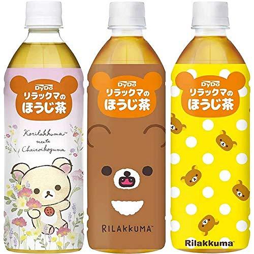 ダイドードリンコ リラックマのほうじ茶 500ml 1セット(6本)