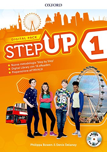 Step up. Student's book-Workbook. Con Studyapp, Mind map, 16 eread, hub. Per la Scuola media. Con ebook. Con espansione online. Con DVD-ROM [Lingua inglese]