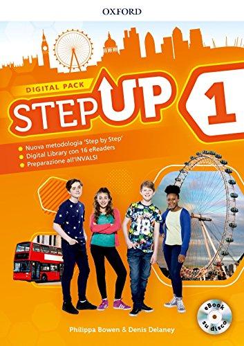 Step up. Student's book-Workbook. Con Studyapp, Mind map, 16 eread, hub. Per la Scuola media. Con ebook. Con espansione online. Con DVD-ROM [Lingua inglese]: Vol. 1